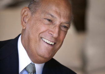 Oscar de la Renta in 2010 Photo by Peter Bregg